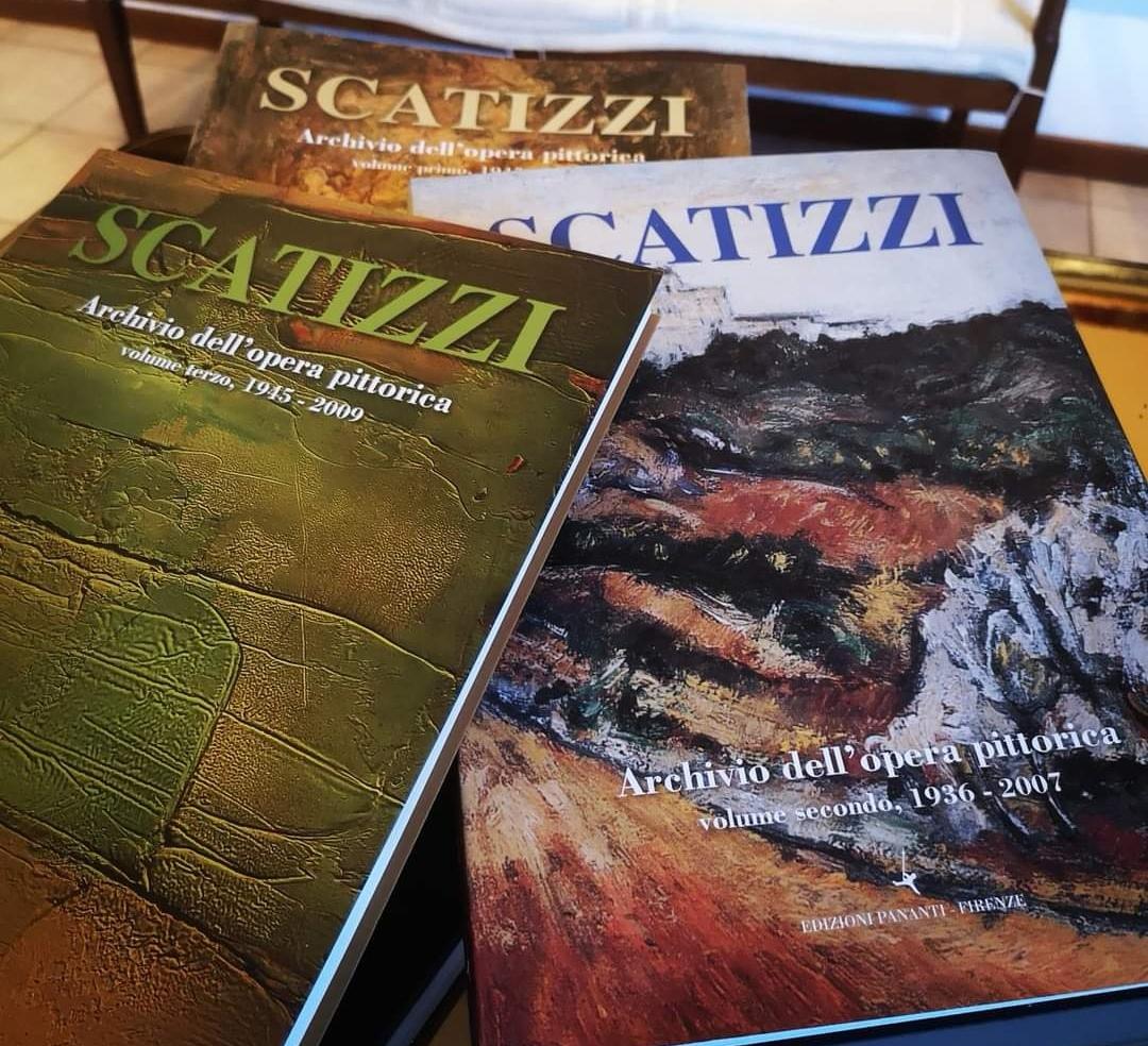 Cataloghi archivio Sergio Scatizzi.Preparazione Quarto Volume